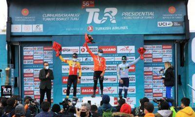 56. Cumhurbaşkanlığı Türkiye Bisiklet Turu Devam Ediyor