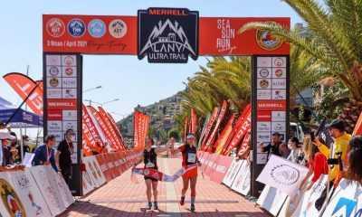 Merrell Alanya Ultra Trail'de ilk birinciler belli oldu