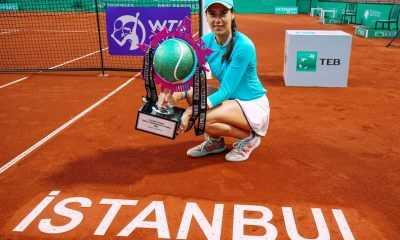 TEB BNP Paribas Tennis Championship Istanbul Şampiyonu Sorana Cirstea