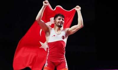 Avrupa Güreş Şampiyonasının İkinci Gününde İki Madalya Kazandık