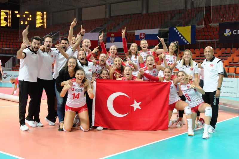 U19 Kiz Voleybol Milli Takimi