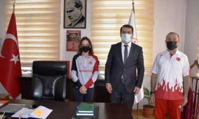 Artvin İl Müdürü Fahri Acar Milli Sporcuları Kabul Etti
