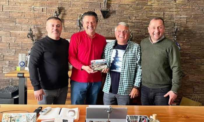 Artvin Çoruhspor'dan İl Dışında Destek Ziyaretleri
