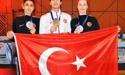 Avrupa Şampiyonası'nda İkinci Gün 1 Altın, 2 Gümüş!