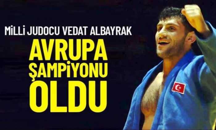 Büyükler Avrupa Judo Şampiyonası'nda üçüncü kez: 2 Altın