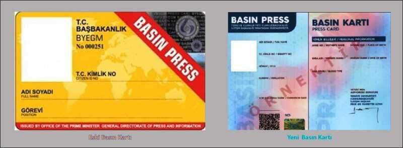 yeni basin karti