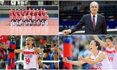 'Türk Voleybolu' Marmara Üniversitesi Spor ve Rekreasyon Ödülleri'nde 5 Dalda Ödüle Aday