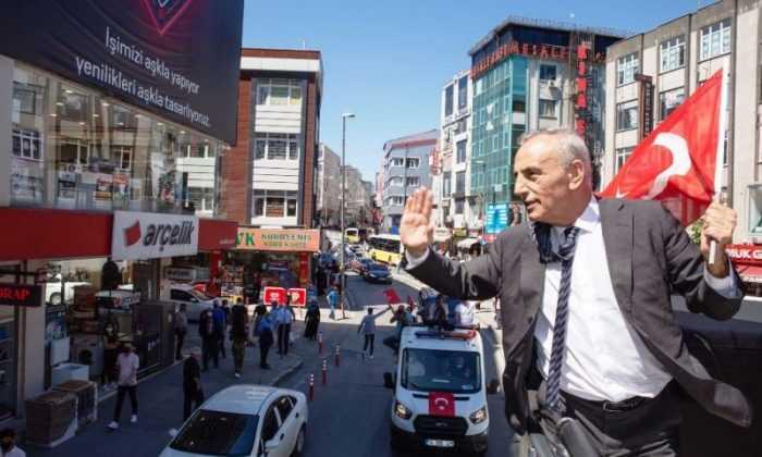 Küçükçekmece'de Coşkulu 19 Mayıs Kutlaması