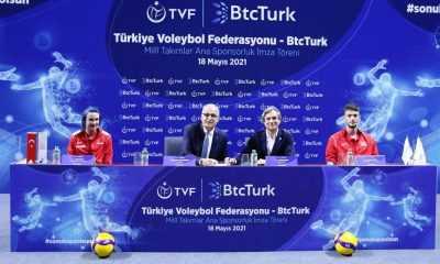 Türkiye Voleybol Federasyonu (TVF) ile BtcTurk arasında 2 yıllık sponsorluk anlaşması imzalandı