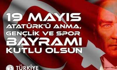 Türkiye Güreş Federasyonu Başkanı Musa Aydın'dan 19 Mayıs Mesajı