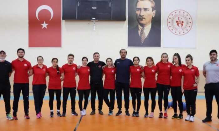 Goalball Kadın Milli Takımı Karaman'da Kampa Girdi