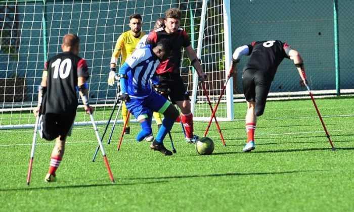 Ampute Şampiyonlar Ligi heyecanı Gaziantep'te devam ediyor