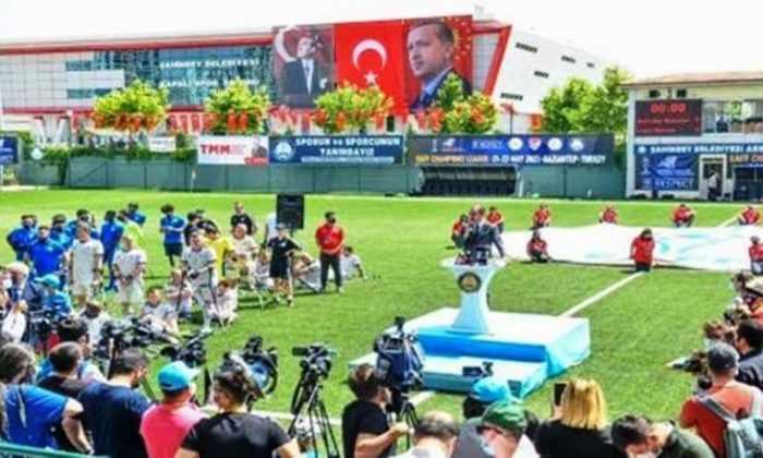Ampute Futbol Şampiyonlar Ligi heyecanı Gaziantep'te başladı.
