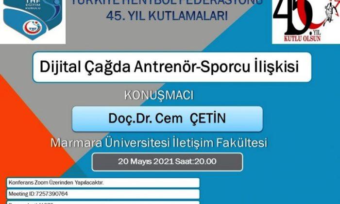 Türkiye Hentbol Federasyonu 45. Yıl Kutlamaları