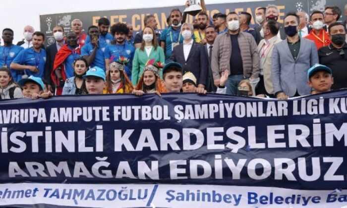 Şampiyonlar Ligi Kupası Şahinbey'in