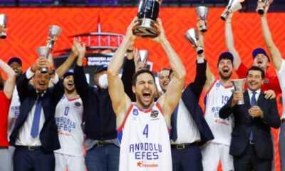 Avrupa Şampiyonluğu Anadolu Efes'e yakıştı