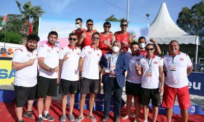 Erkekler CEV Continental Cup'ta Namağlup Şampiyonuz