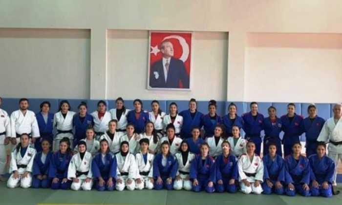 Ankara TOHM ile Azerbaycanlı judocular Trabzon'da ortak çalışmada