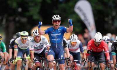 36'lık Cavendish'ten Harika Bir Sprint