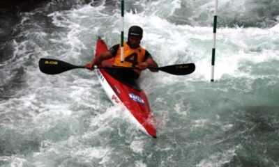 Akarsu Kano Slalom Türkiye Kupası Yarışları Yusufeli'nde Yapıldı