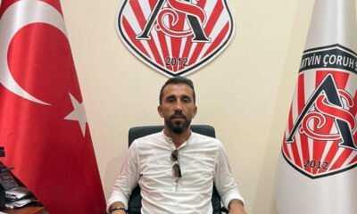 Artvin Çoruhspor Futbol Şubesi Yücel Ustabaş'a Emanet