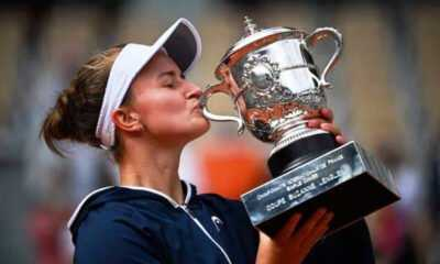 Tek kadınlar şampiyonu Çek Krejcikova