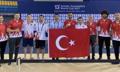 Dünya Artistik Jimnastik Şampiyonu Ferhat Arıcan oldu
