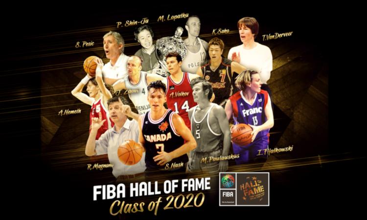 FIBA Şöhretler Müzesi 2020-21 Sınıfları Ödül Törenlerini Yayımladı
