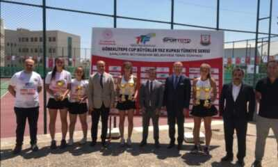 Göbeklitepe Büyükler Yaz Kupası'nda Kupalar Sahiplerini Buluyor