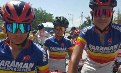 Karaman Bisiklet Takımı Bronz Madalya Kazandı