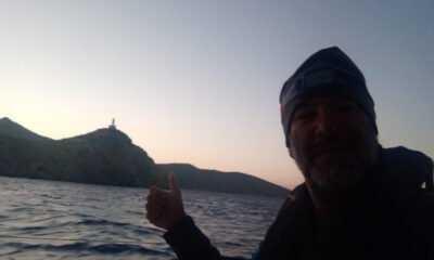 Tolga Pamir 3 Denizi Geride Bırakıp Akdeniz'e Giriş Yaptı