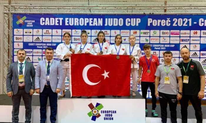 Gençler Avrupa Judo Kupası ilk gününde 5 madalya