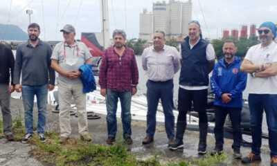 Yelkenci Tolga Pamir Rekor Denemesine Hopa'dan Başladı