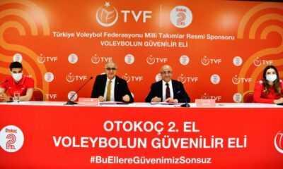 Türkiye Voleybol Federasyonu (TVF), Otokoç 2. El ile Sponsorluk Anlaşması İmzaladı