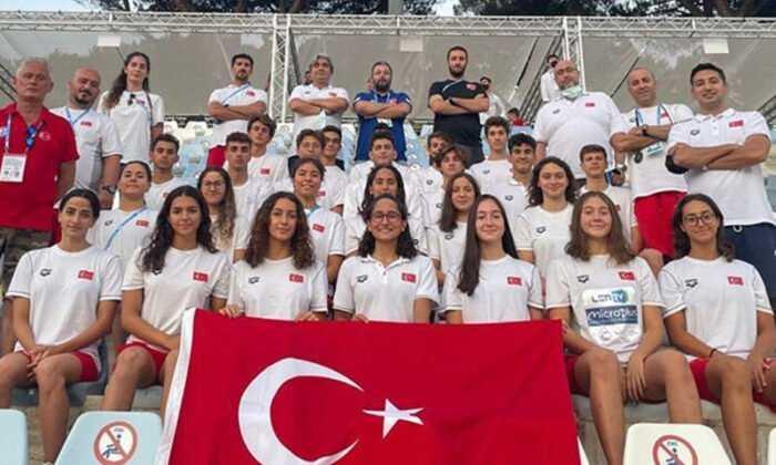Avrupa Gençler Yüzme Şampiyonası'nda 15 Madalya Kazandık
