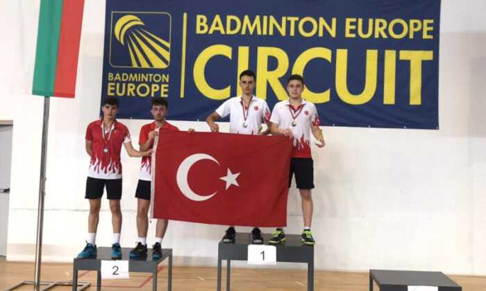 Badminton Milli Takımı 5 Madalya Daha Kazandı