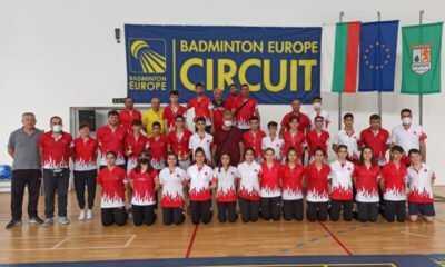Badminton Milli Takımı'ndan 4 Madalya