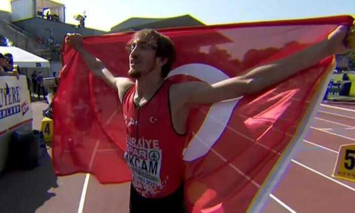 Berke Akçam Avrupa Şampiyonu Oldu