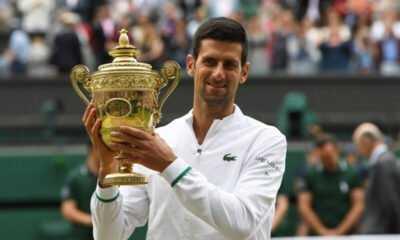 Djokovic, Wimbledon'daki 6. Şampiyonluğuna Ulaştı