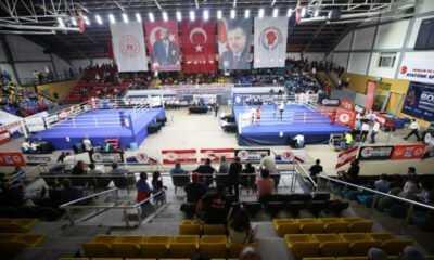 Erkan Durak Üst Minik Erkek ve Kadınlar Türkiye Ferdi Boks Şampiyonası Sakarya'da Başladı