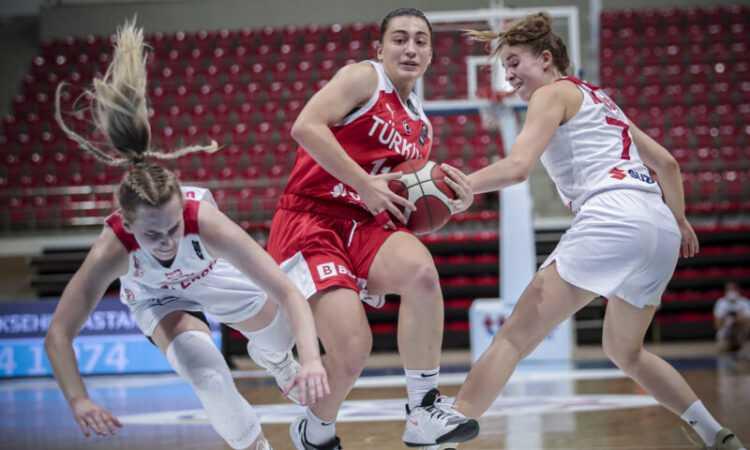 FIBA 20 Yaş Altı Kadınlar Avrupa Challengers Turnuvasında Türkiye 4. Oldu