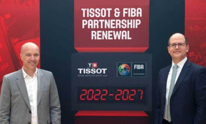 FIBA ve Tissot Ortaklığı 2027'ye Kadar Uzatıldı