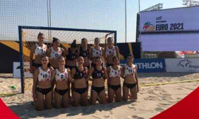 Kadın Plaj Hentbol Takımımız 10. Oldu