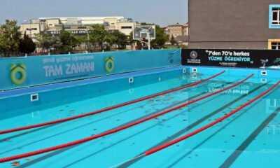 """Maltepe'de """"Yüzme Bilmeyen Kalmasın"""" Projesi"""