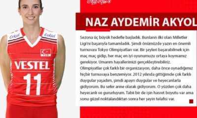 """Naz Aydemir Akyol: """"En İyi Oyunumuzu Ortaya Koymamız Gerekiyor"""""""
