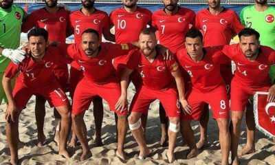 Plaj Futbolu Milli Takımı'nın Hazırlık Kampı Kadrosu Açıklandı