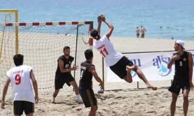 Plaj Hentbol Şampiyonası'nda Hedef Madalya