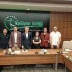 TSYD Trabzon Şubesi Kulüpler Birliği Başkanı Ahmet Ağaoğlu'na Hayırlı Olsun Ziyareti