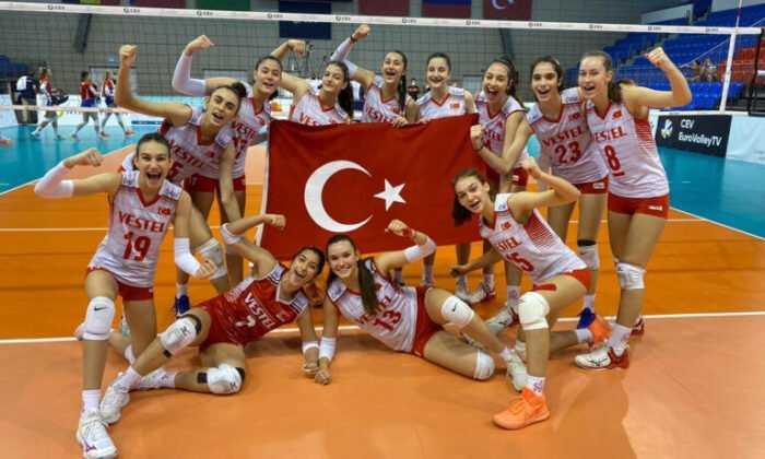 U16 Kız Milli Takımımız Avrupa Şampiyonası'nda 2'de 2 Yaptı