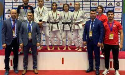 Ümitler Avrupa Judo Kupası'nın İlk Gününde 4 Madalya